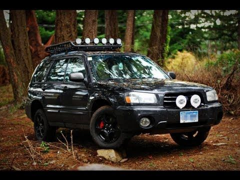 2003 Subaru Forester Off Road Lighting - YouTube