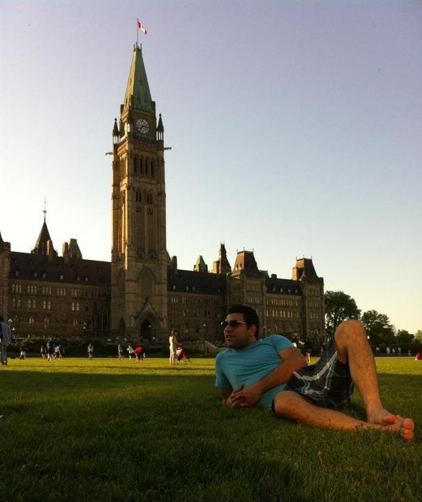 Marouène Fazzi is an AIESECer from Tunisia who interned in Quebec city