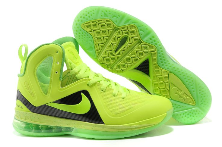 Cheap Nike LeBron 9 P.Elite Green Black, cheap Nike LeBron 9 P. Elite, If  you want to look Cheap Nike LeBron 9 P.Elite Green Black, you can view the  Nike ...