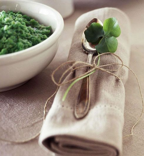 Click Pic for 24 St Patricks Day Decor Ideas | Irish Napkin | St Patricks Day Ideas