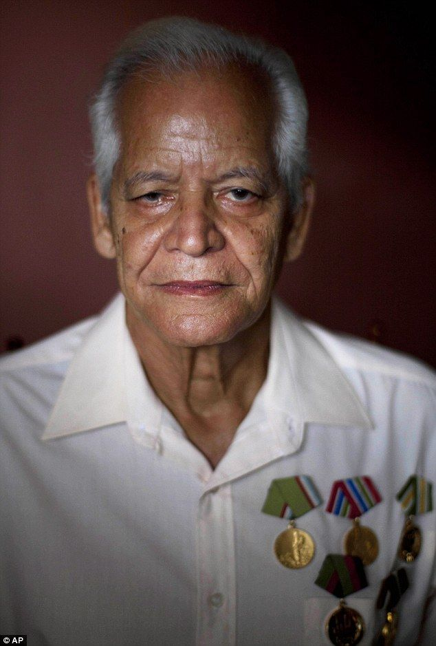 Claudio Rodriguez Contreras, 71: 'Cuban elderly have no biggest fears of old age, as our revolutionary government within its means helps us ...