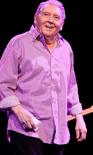I've always found Jerry Lee Lewis pretty damn creepy. Not he's married his cousin's ex-wife. The cousin whose sister he married when she was 13!