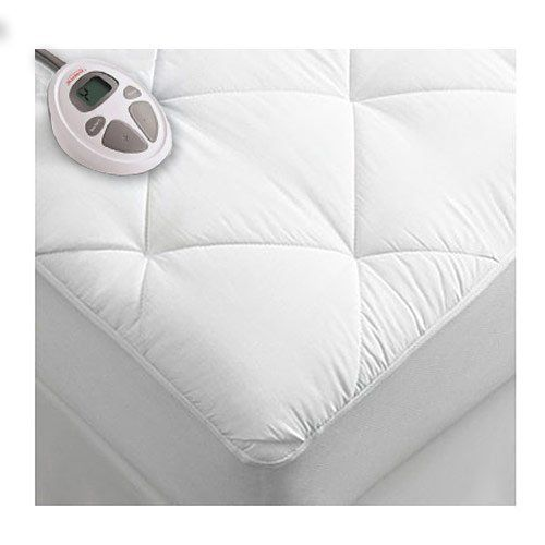 "Product review for Sunbeam Premium Luxury Quilted Electric Heated Mattress Pad Twin Size.  - Sleep well. The Premium Heated mattress pads from Sunbeam provide lofty warmth and soothing comfort throughout the night. Features a 7"" diamond design and ten heat settings so you can find your perfect temperature. Auto-off and preheat features provides personalized comfort and convenience.....  Continue reading at  https://www.bestselleroutlet.net/bedding/mattress-pads-protect"