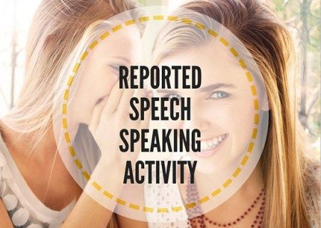 REPORTED-SPEECH-ACTIVITY