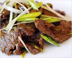 Mongolian Beef | Easy Asian Recipes at RasaMalaysia.com | Easy Asian Recipes at RasaMalaysia.com