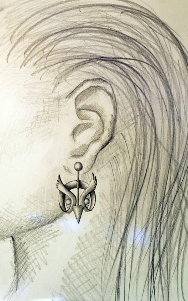 Fab atelier - Lina's Bird Earrings