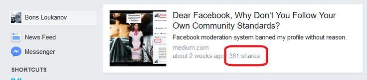 """След като се уверих, че преждевременното вдигане на Facebook наказанието ми не е бъг, искам специално да благодаря на всички приятели и познати, които ме подкрепиха и разпространиха статията, която написах в Medium по моя случай - """"Dear Facebook, Why Don't You Follow Your Own Community Standards?"""" https://plus.google.com/photos/113787605764149279478/albums/6436965735331984897?authkey=CL78yLCb5qC5Ug"""