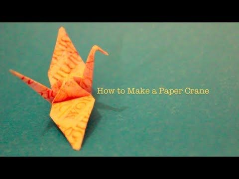 20 best images about art origami on pinterest origami for How yo make a paper crane