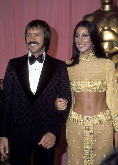sonny and cher....i watched them all the time! No matter how outlandish, Cher had the body to WEAR the clothes!
