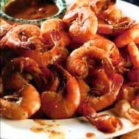 Dinosaur Bar-B-Que Drunken Spicey Shameless Shrimp!