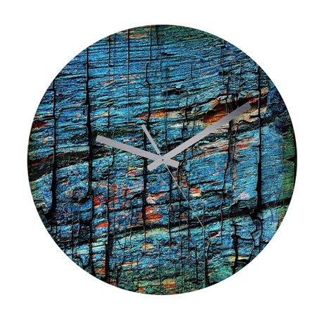 Frameless Wall Clock Texture60