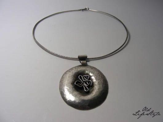 Naszyjnik ORNO/ necklace ORNO/ polish vintage jewellery/ vintage silver necklace/ polish PRL jewellery #vintagejewellery #polishjewellery #PRLjewellery #polskabiżuteria #polskabiżuteriaPRL #necklace #ORNO
