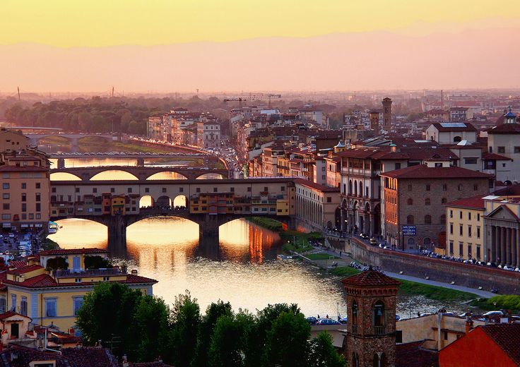 piazzale michelangelo sunset - Florence