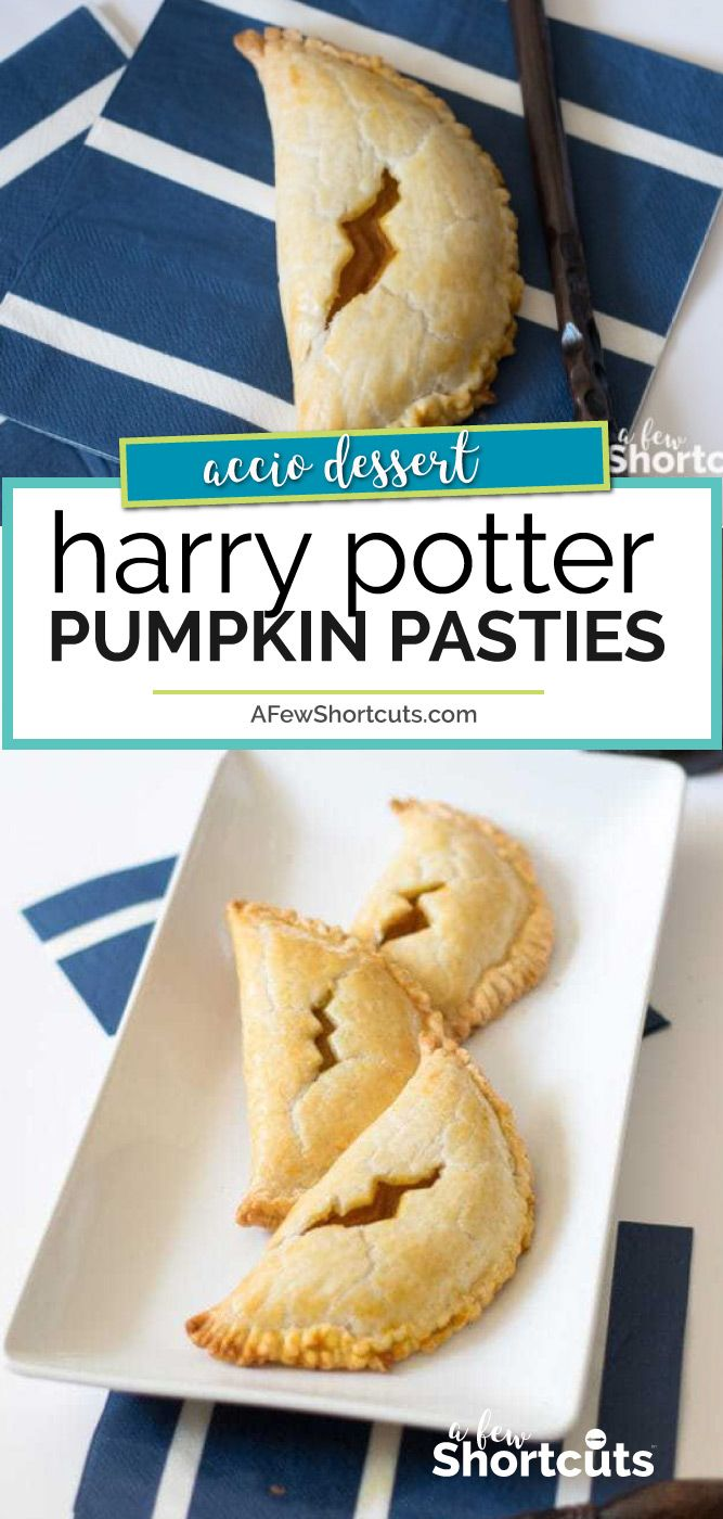 How To Make Pumpkin Pasties From Harry Potter Recipe Pumpkin Pasties Harry Potter Desserts Harry Potter Snacks