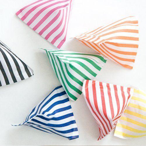 "64 x Multi Colour Striped Paper Candy Bags - 5"" x 7"" , http://www.amazon.co.uk/dp/B004B4D2S8/ref=cm_sw_r_pi_dp_Ev7etb0SQKDJ2"