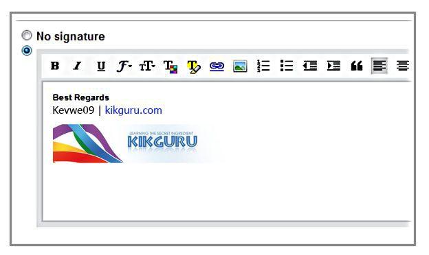 Gmail Signature Add A Signature To Gmail Kikguru Ads Signature How To Be Outgoing