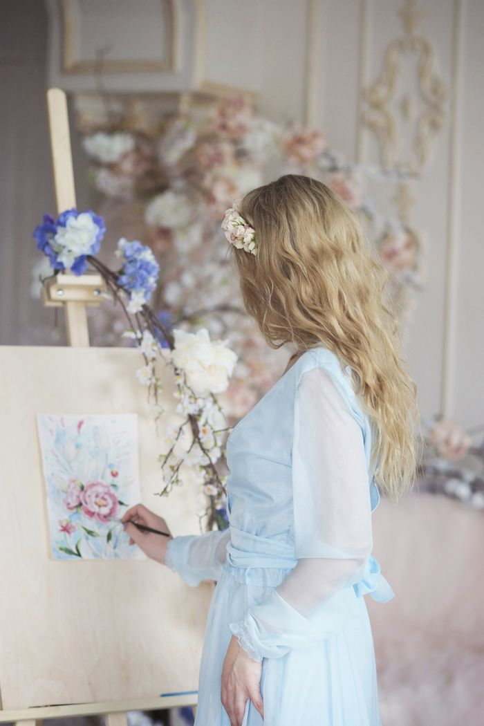 "Morning Bride On Wedding Day - Wedding Inspiration shoot | Fab Mood #weddinginspiration"""