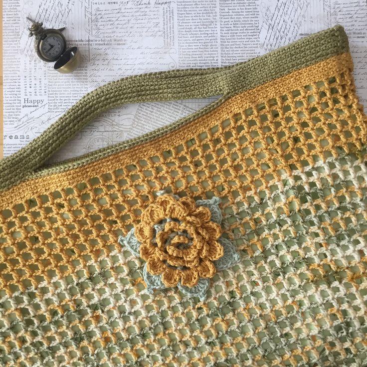 crochet market bag/tote