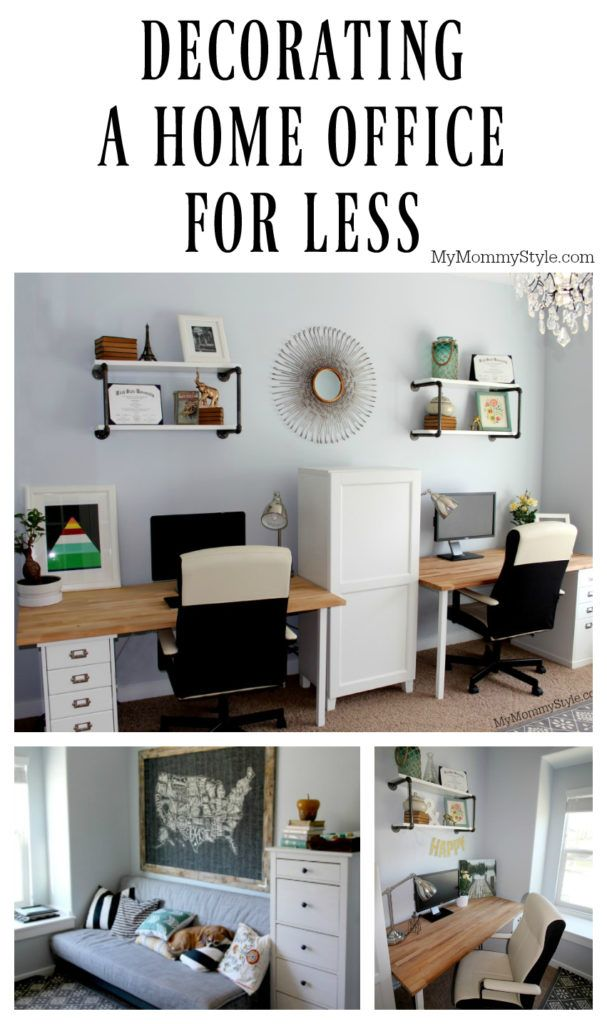 Decorating A Home Office For Less