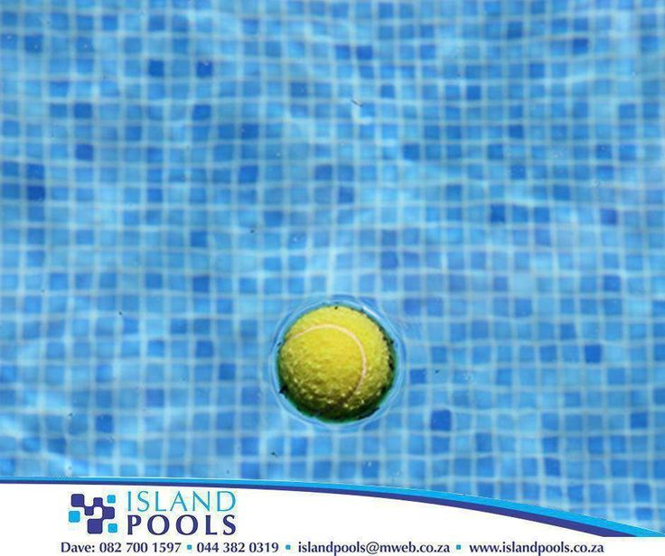 #LifeHack: Suntan lotion and sun block often end up in the pool after they're applied to a swimmer, and these substances can make the pool dirty quite quickly. Throwing a standard tennis ball into the pool to float for a while will suck up all those extra oils and chemicals that don't belong in the pool. It's fine to leave the tennis ball floating in the pool at all times. #IslandPools