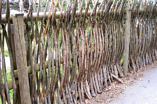 Dekoratif Ahşap Bahçe Çitleri (5)