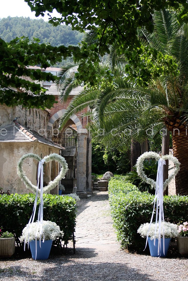 #elisabettacardani #italianstyle #cuore #blu #gypsophila #chiesa #liguria