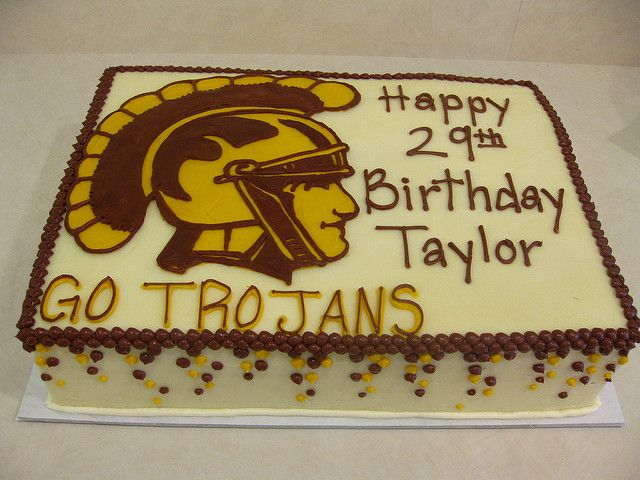 Usc Birthday Cake Images : 17 Best ideas about Birthday Sheet Cakes on Pinterest ...