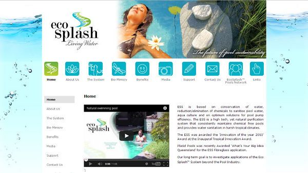 EcoSplash | Website Design | By Corinne Jade Shardlow