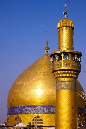 Shrine of Imam Ali peace be upon him .. Iraq - Najaf by Rasoul Ali ضريح الامام علي عليه السلام.. العراق - النجف رسول علي