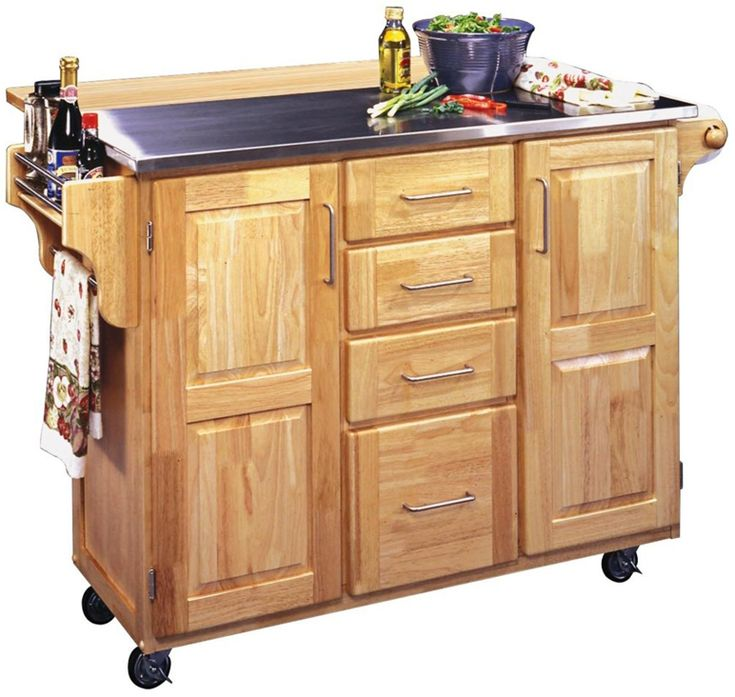 10 Best Portable Kitchen Islands Images On Pinterest Mobile Kitchen Island Kitchen Island