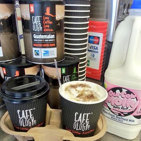 NEW! Weetabix, honey & hot or cold @OurCowMolly milk with any medium coffee just £2.50 at the pod! @CafeologySheff