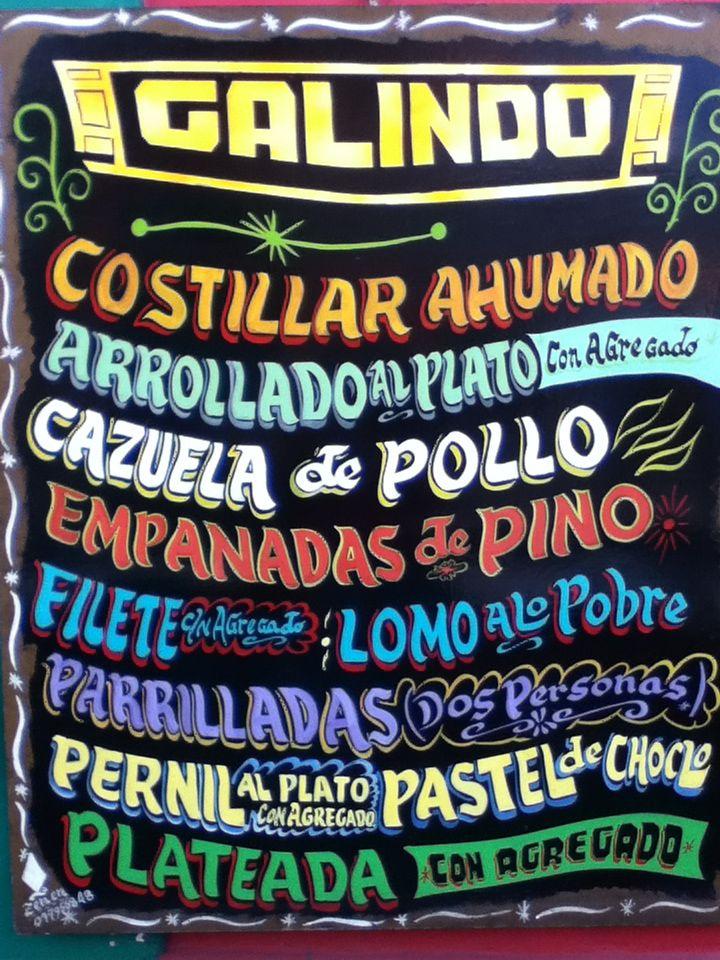 Chilean food board Bellavista