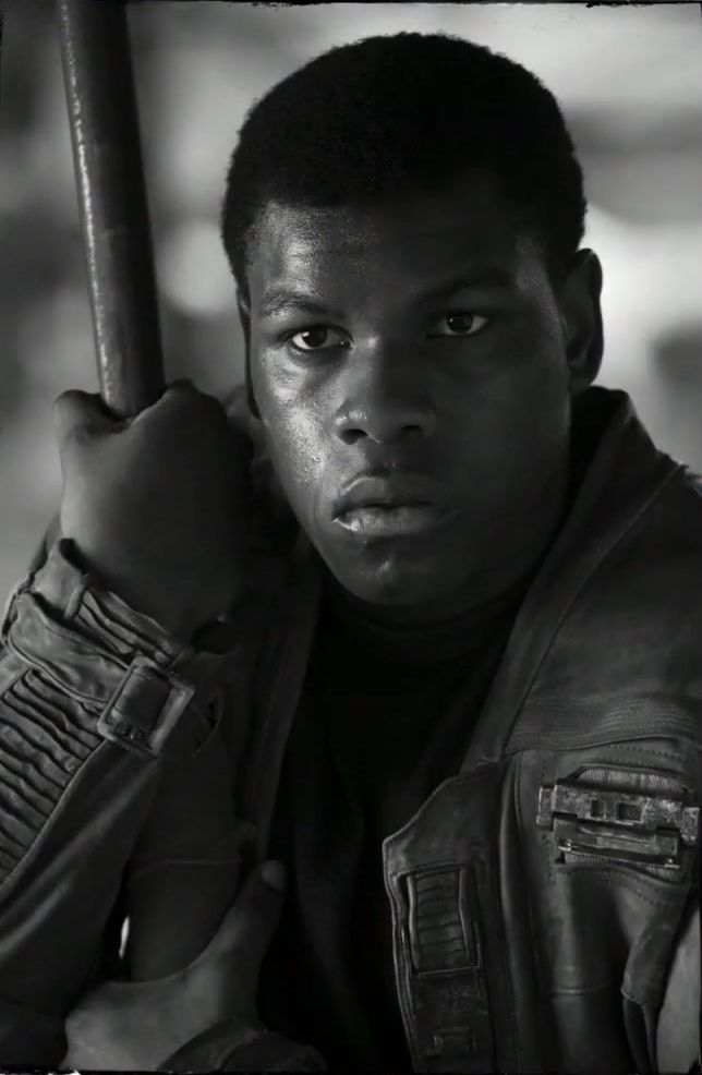 Star Wars VII - The Force Awakens / John Boyega as Finn.