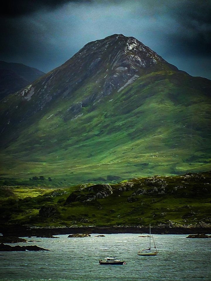 Connemara, County Galway, Ireland - i lived at the bottom of a mountain here when i was a teen <3