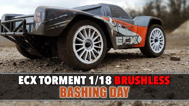 Ecx Torment 1/18 Brushless - (The last) Bashing Day  #rc #ecx #torment #118 #minitorment #brushless
