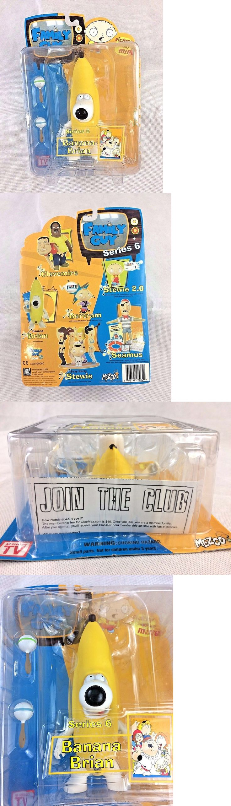 Family Guy 146056: Family Guy Mezco Series 6 Action Figure Banana Brian - New - Sealed In Box! -> BUY IT NOW ONLY: $44.99 on eBay!