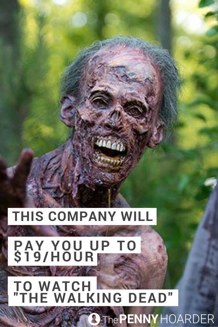 """Dreams do come true. Here's how to get paid to watch """"The Walking Dead"""" -- from your bed -- as a digital cataloguer. No experience required. /thepennyhoarder/"""