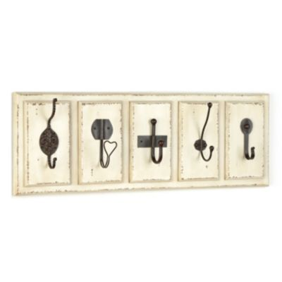 Cream Eclectic Wall Hooks | Kirkland's for the Mud Room