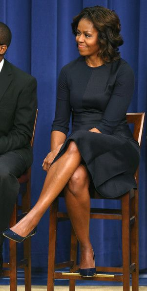 Michelle Obama - Barack Obama Hosts a College Event