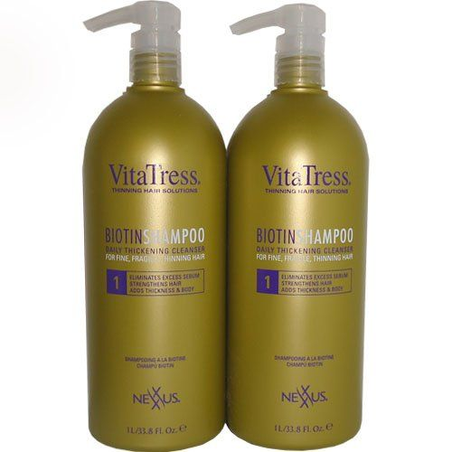 Nexxus Vitatress Biotin Shampoo 33.8oz 'Pack of 2' >>> Click on the image for additional details. #hairstylist