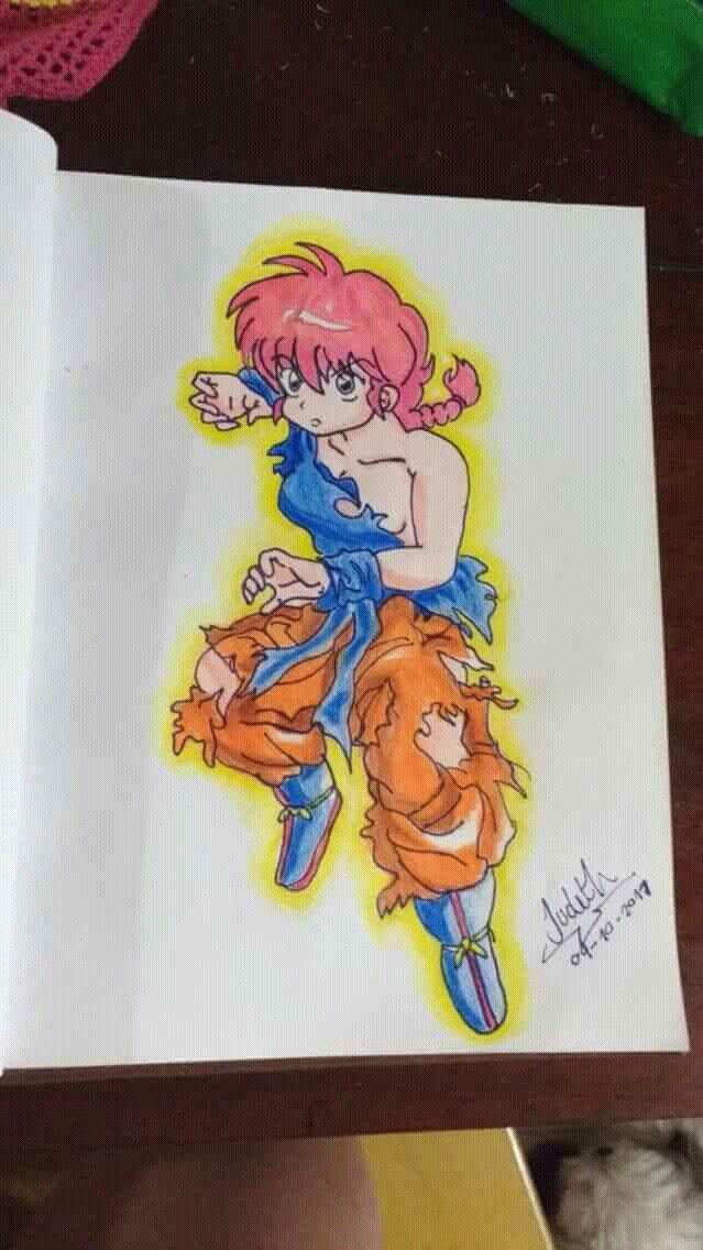 Ranma mujer en dragon ball z