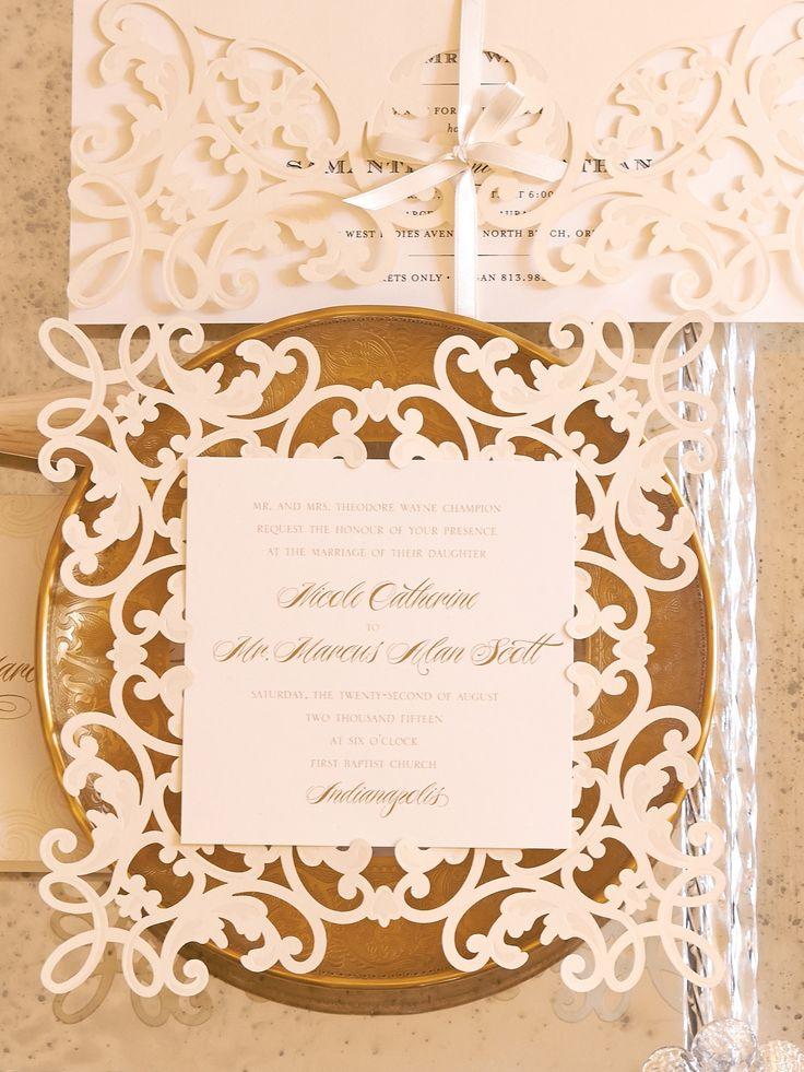 Diy wedding invitations cricut yaseen for for How to make wedding invitations on cricut explore