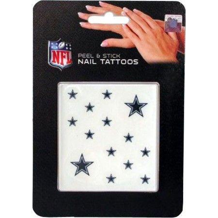 dallas cowboy tattoos for men | Dallas Cowboys Nail Tattoo 0