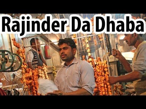 Rajinder Da Dhaba - Legendary Delhi Street Food - http://www.youtube.com/watch?v=UYvpoazTS-4