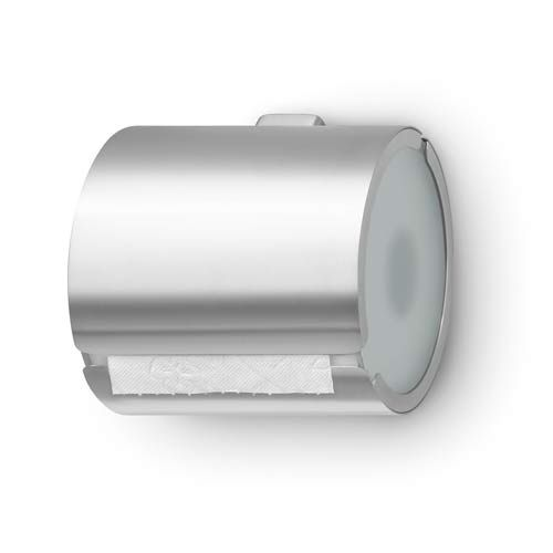 Brushed Stainless Steel Toilet Paper Holder Blomus Paper Holders Toilet Paper Holders Bath