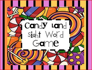 30+ Candy Land games that follow K-3 Common Core!