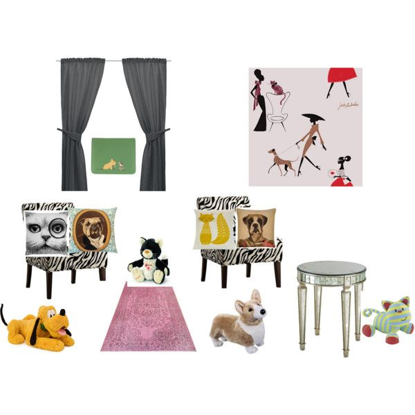 """Dogs and Cats"" by millie0210 on Polyvore"