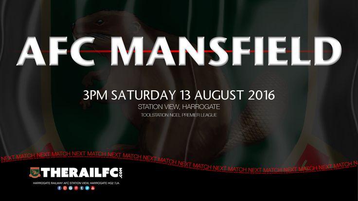 Next Match: Harrogate Railway v AFC Mansfield    @therailfc @Edwhite2507 @NCEL #NCEL @AFCMansfield