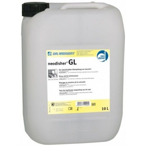 Neodisher GL üvegedény öblitő 10 literes kiszerelésben 7000  Ft-ért eladó.