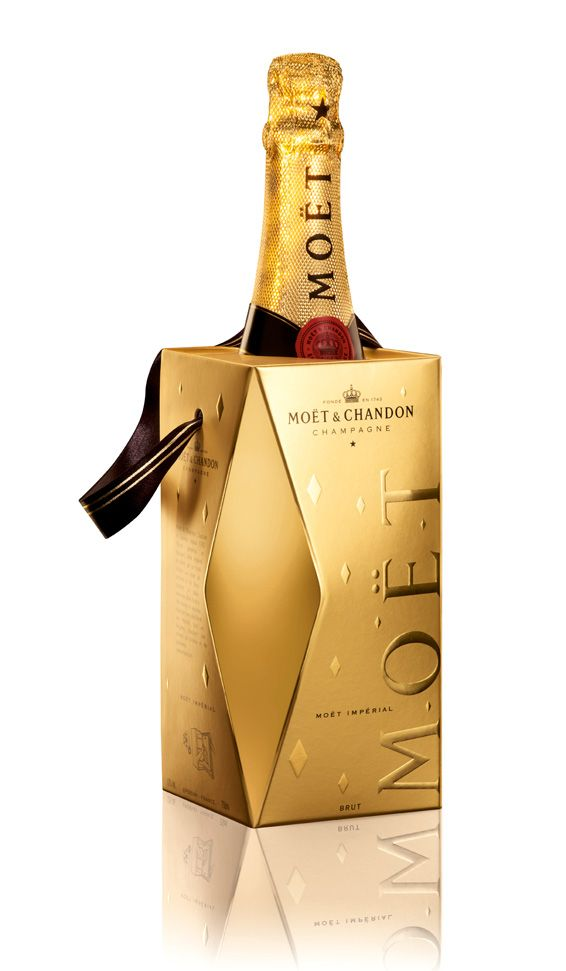 Moet in a bag!